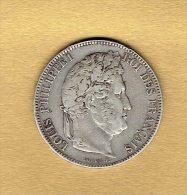 5 Francs Louis Philippe 1er 1832w - France
