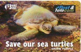 Tortue Tortoise Turtle Télécarte Fidji Phonecard  Telefonkarten B 264 - Fidji