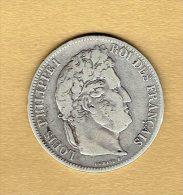 5 Francs Louis Philippe 1er 1841w - France