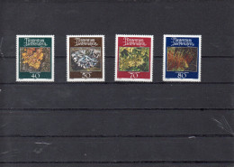 LIECHTENSTEIN 1981    -serie lichens    **
