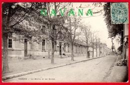 95 BEZONS - La Mairie Et Les écoles - Bezons