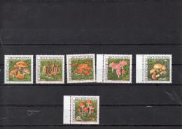 LIECHTENSTEIN 1997/2000    -series champignons   **