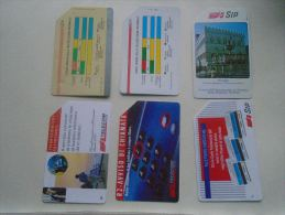 Phonecards  Italia   6 Pcs    - D137277 - Télécartes