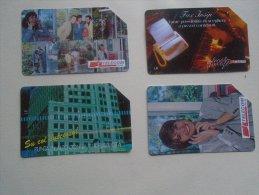 Phonecards  Italia   4 Pcs    - D137280 - Télécartes