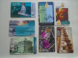 Phonecards   HUNGARY   7 Pcs    - D137281 - Tarjetas Telefónicas