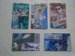 Phonecards   HUNGARY    5 Pcs    - D137283 - Télécartes