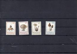 LUXEMBOURG 1991      -serie champignons   **