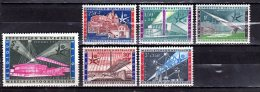 1958 Belgium / Belgique - World Expo Brussel - Set Of 6 V Paper - MNH** Mi 1094/1099 - 1958 – Brüssel (Belgien)