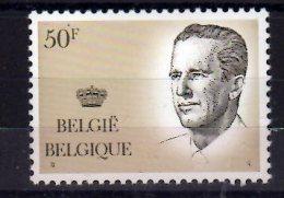 1984 Belgium - King Bolduin - High Value Defenitive - 50 F - Paper MNH** - België