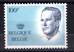 1984 Belgium - King Bolduin - High Value Defenitive - 100  F - Paper MNH** - Ongebruikt