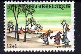 1984 Belgium -Christmas And New Year - Three Kings - 1v Paper - MNH** Mi2207 - Ongebruikt