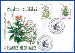 Alg�rie 2016 FDC - 1735/1736 - Plantes m�dicinales