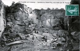 87. HAUTE-VIENNE - SAINT-HILAIRE LES PLACES. Carrière Du Grand-Puy, Exploitée Par M. Piquet. - Autres Communes