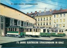 80 Jahre Grazer Schlossbergbahn- 75 Jahre Elektrische Strassenbahn In Graz - Tram - Transport