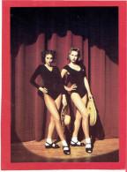 JEMMES FEMMES EN SCENE CARTE EN SUPERBE ETAT PUBLICITE KOOKAI 1992 - Pin-Ups