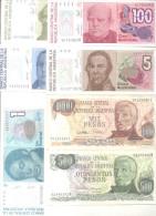 REPUBLICA ARGENTINA LOTE DE 7 BILLETES DIFERENTES TRES BON ETAT EXCELLENT SHAPE - Argentina