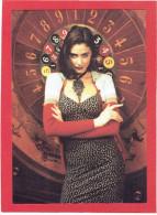 JEMME FEMME AU CASINO ROULETTE CARTE EN SUPERBE ETAT PUBLICITE KOOKAI 1992 - Pin-Ups