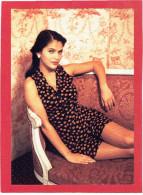 JEMME FEMME ASSISE CARTE EN SUPERBE ETAT PUBLICITE KOOKAI 1992 - Pin-Ups