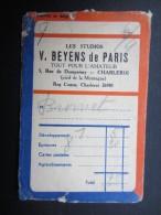POCHETTE PHOTO (M1505) GEVAERT FILM (2 Vues) V. BEYENS De Paris CHARLEROI Rue De Dampremy, 5 * Photo Amphore - Photographie
