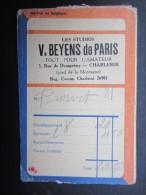 POCHETTE PHOTO (M1505) GEVAERT FILM (2 Vues) V. BEYENS De Paris CHARLEROI Rue De Dampremy, 5 * Photo Tigre - Photographie
