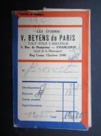 POCHETTE PHOTO (M1505) GEVAERT FILM (2 Vues) V. BEYENS De Paris CHARLEROI Rue De Dampremy, 5 * Photo Jeune Enfant Dort - Photographie