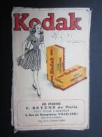 POCHETTE PHOTO (M1505) KODAK (2 Vues) V. BEYENS De Paris CHARLEROI Rue De Dampremy, 5 * Photo Papier VELOX B - Photographie