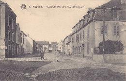 Virton - Grande Rue Et Ecole Ménagère (animation) - Virton