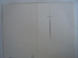 Doodsprentje Luc Geubels Dendermonde 1937 Aalst Ziekenhuis Echtg Ghislaine De Koninck Huysman Rafael 4 - Imágenes Religiosas