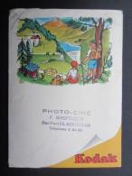 POCHETTE PHOTO (M1505) KODAK (2 Vues) Photo Ciné MONTREUX Ben Port 55 F. BIRSFELDER * Paysage De Montagne - Photographie