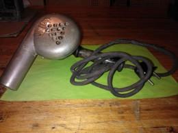 Vintage Haardroger/ Föhn, Merk: Union, N° 19740, 11/130V 400W - Old Hair Driers