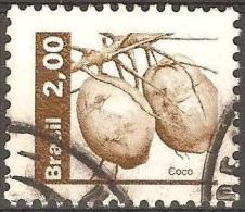 Br�sil - 1982 - Noix de coco - YT 1546 oblit�r�