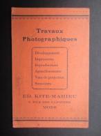 POCHETTE PHOTO (M1505) PHOTOVOX (2 Vues) ED. KITE-MAHIEU 9, Rue Des Capucins MONS - Photographie