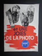 GUIDE PHOTO (M1505) GEVAERT (6 Vues) 1000 Er Une Joies De La Photo - 18 Pages - Fotografie En Filmapparatuur