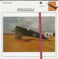 Vliegtuigen.- Junkers D-I En CL-I - Jachtvliegtuigen. -  Duitsland - Vliegtuigen