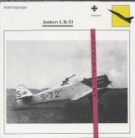 Vliegtuigen.- Junkers L/R-53 - Jachtvliegtuigen. -  Duitsland - Vliegtuigen