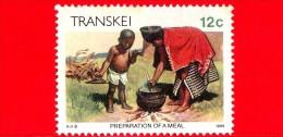TRANSKEI - Usato - 1985 - Meal Preparation - 12 - Transkei