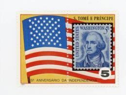 Sao Tome-1980-g.Washington-dr Apeau-1 Valeur***MNH - George Washington