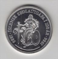 @Y@  IJsland 500  Kronur  1986  BU    (2981) - Islande