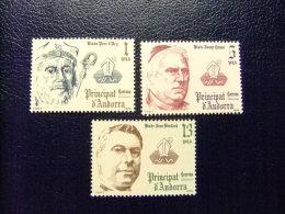 ANDORRA ESPAÑOLA 1979 Yvert Nº 121 / 23 ** - Nuevos