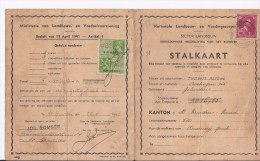 Stalkaars  Gelinden 1941 - Documenti Storici