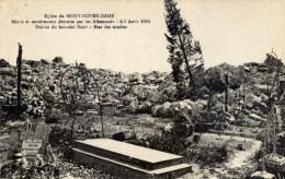 02  MONT-NOTRE-DAME Eglise Ruines Et Cimetière - Frankreich