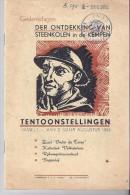 Gedenkdagen Der Ontdekking Van Steenkolen In De Kempen - 1951 - Old Paper