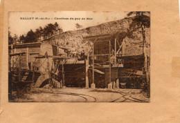 CPA, DALLET - Les Carrières Du Puy De Mur - Belle Carte Animée - France