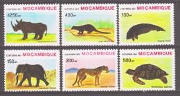 Mozambique 1990 Mocambique Mi 1209-1214 Endangered Animals / Gefährdete Tiere **/ MNH - Non Classés