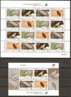 Macau China 2011 Birds WWF  16+1  MNH** - W.W.F.