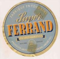 ETIQUETTE DE FROMAGE  Ferrand Anche I & L Touraine - Cheese