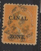 P622.-. PANAMA / CANAL ZONE . 1927-31 . SC#: 104 . USED .  CV: US$ 11.00 - Zona Del Canale / Canal Zone