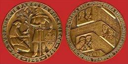** MEDAILLE   POLOGNE   966  - 1944  - 1966 ** - Entriegelungschips Und Medaillen