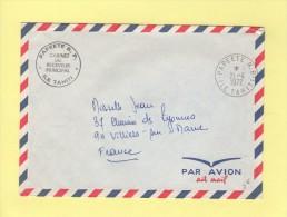 Tahiti - Papeete - Cabinet Du Receveur Principal - Franchise - 1972 - Tahiti