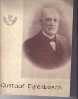 Gustaaf Eylenbosch- Herdenking 1956 - 12 Blz - Foto's - Programmi